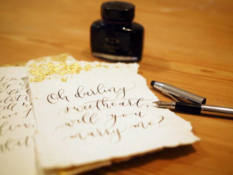 A case for the private love letter